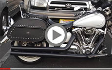2006 Yamaha Road Star Silverado Motorcycle Saddlebags Review