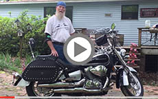 2008 Honda Shadow 750 Motorcycle Saddlebags Review
