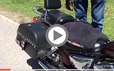 2008 Yamaha V Star 250 Motorcycle Saddlebags Review