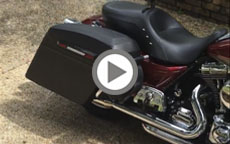 2009 Harley Davidson Road King Motorcycle Saddlebags Review