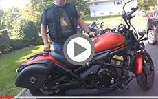2016 Kawasaki Vulcan S Motorcycle Saddlebags Review