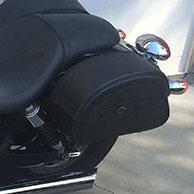 Chris' '16 Triumph Speedmaster w/ Warrior Series Saddlebags