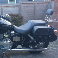 Dave's '16 Triumph America w/ Odin Series Motorcycle Saddlebags