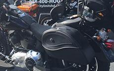 JB's 2014 Kawasaki Mean Streak w/ Ultimate Shape Motorcycle Bags