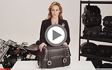 Harley Street motorcycle Bags videos icons