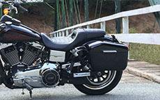 Marcus' '15 Harley-Davidson Dyna Low Rider w/ Motorcycle Saddlebags