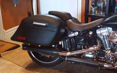 Randy's Harley-Davidson Softail Breakout w/ Motorcycle Saddlebags