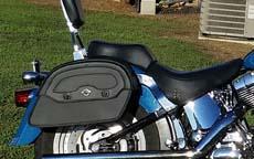Roy's '02 Harley-Davidson Fat Boy w/ Motorcycle Saddlebags