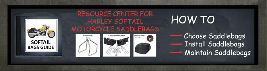Harley Davidson Softail Saddlebags Guide