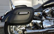 Daniel's Harley-Davidson Sportster 1200 Custom w/ Lamellar Hard Saddlebags
