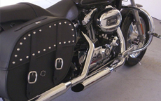 Fred's Harley-Davidson Sportster 1200 Custom w/ Spear Saddlebags