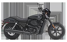 Harley Davidson Street 500 Saddlebags