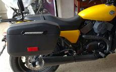 15 Harley-Davidson Street XG 750 w/ Motorcycle Saddlebags
