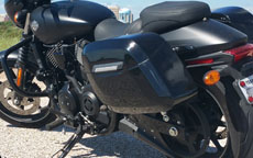 Kenneth's Harley-Davidson 750 Street w/ Motorcycle Saddlebags
