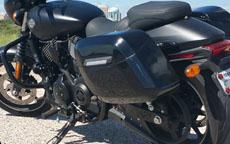 Kenneth's Harley-Davidson 750 Street w/ Motorcycle Saddlebags