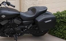 Eanroe's '15 Harley-Davidson street 750 w/ Motorcycle Saddlebags