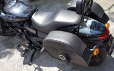 Robert's Harley-Davidson Street 750 w/ Motorcycle Saddlebags