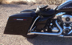 Gerald's Harley-Davidson Road King w/ Motorcycle Saddlebags