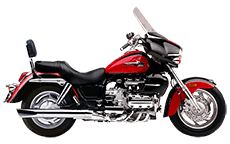 Honda 1500 Valkyrie Interstate Saddlebags