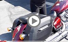 Honda Shadow Aero Vt750 Hard Leather Motorcycle Saddlebags Review