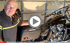 Honda VTX 1300 Motorcycle Saddlebags Review