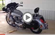 Honda VTX 1300 R Motorcycle Saddlebags Review