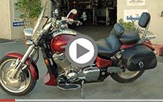 Honda VTX 1800C Viking Bags Leather Hard Bags Installation Review