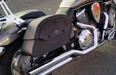 Gary's Honda VTX 1800 C w/ Warrior Series Saddlebags