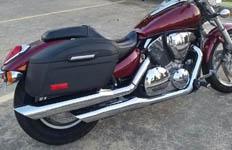 Todd's '06 Honda VTX 1300c w/ Lamellar Series Hard Saddlebags