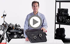 Honda VTX Thor Series Braided Motorcycle Saddlebags Review