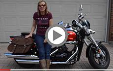 Honda VTX Viking Saddle Bag Review