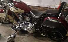 Danny's '00 Indian Chief w/ Pinnacle Studded Motorcycle Saddlebags