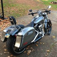 Jeff's '14 Harley-Davidson Softail Breakout w/ Lamellar Hard Saddlebags