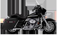 Harley Electa Glide Saddlebags