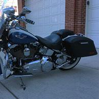 Ron's '15 Harley-Davdison Softail Deluxe FLSTN w/ Lamellar Hard Saddlebags