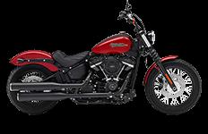 Harley Davidson Softail Street Bob Saddlebags