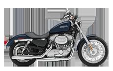 Harley Davidson Sportster 883 Low Motorcycle Saddlebags