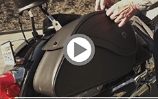 Frank's Yamaha Road Star Bags Review