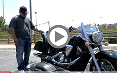 Richard's 2009 Yamaha V Star 1300 Lamellar Hard Bags Review