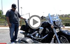 Richard's 2009 Yamaha Stratoliner Lamellar Hard Bags Review