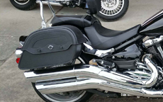 Jay's '12 Yamaha Raider w/ Warrior Series Saddlebags