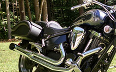 Miff's Yamaha Road Star w/ Warrior Motorcycle Saddlebags