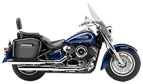 Yamaha Silverado Motorcycle Saddlebags