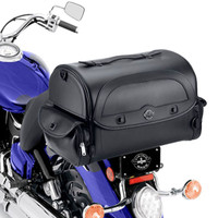 Indian Viking Warrior Motorcycle Trunk On Bike View