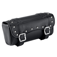 Triumph Studded Motorcycle Fork Bag Main Image
