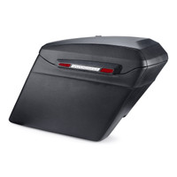 Harley Davidson Softail Heritage Touring Bagger Leather Covered Stretched Saddlebags Main Image