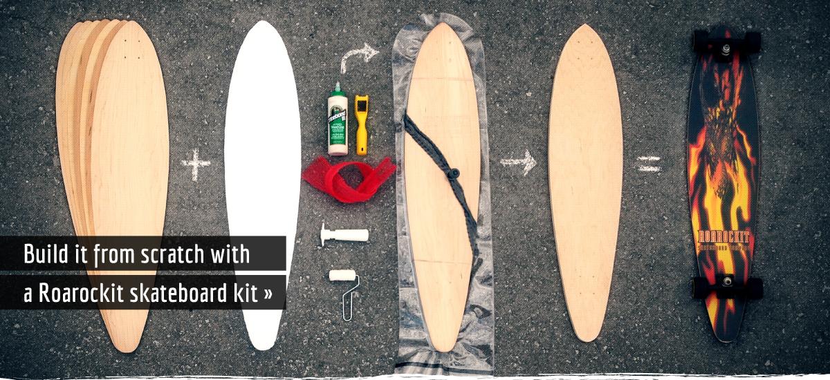 Build a skateboard from scratch