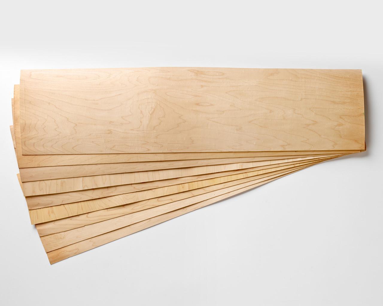 Longboard Maple Veneer 9 Layer Sets