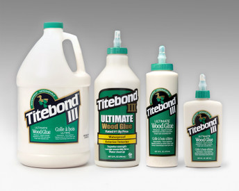 Titebond III glue for making skateboards and other projects.