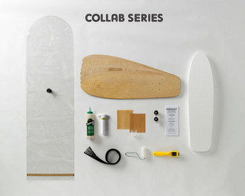 This collaboration with UK board designer Chris White and Roarockit EU's own Nico Alix has created a throw-back to the early days of fun-to-ride skateboards. Simply perfect!